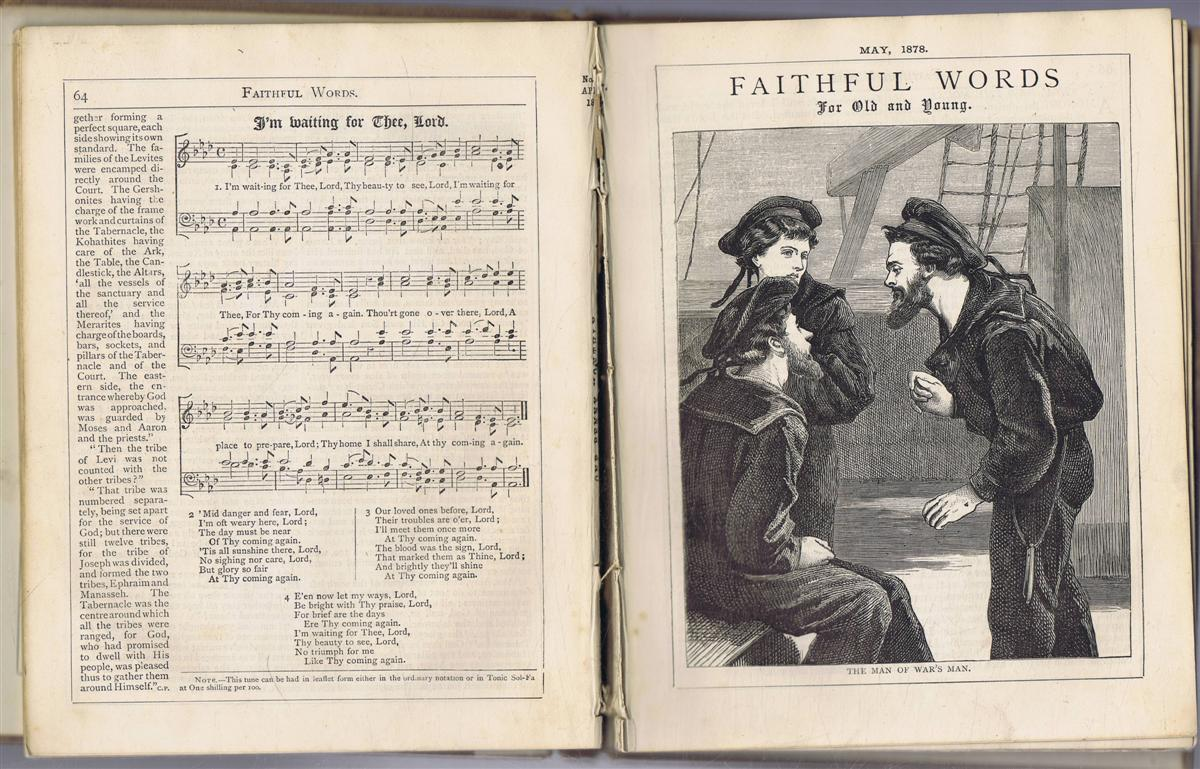 Image for Faithful Words for Young and Old 1878