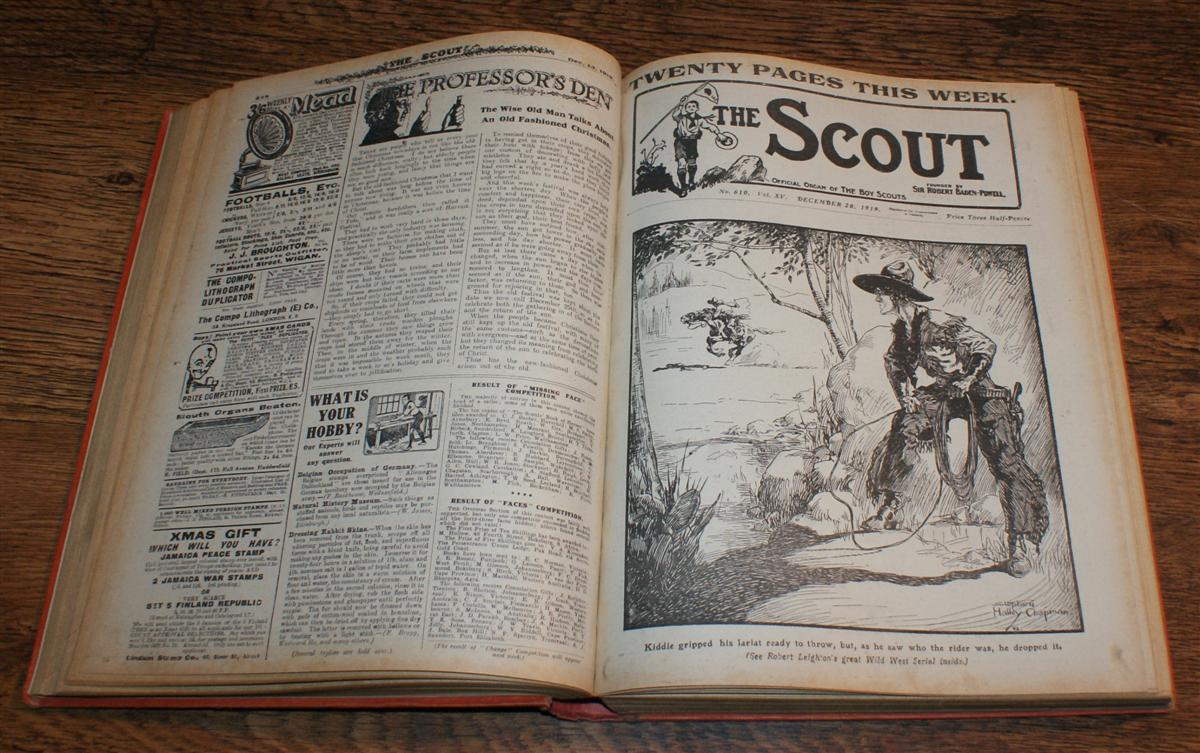 Image for The Scout, Founded by Sir Robert Baden Powell, Volume XV for 1920