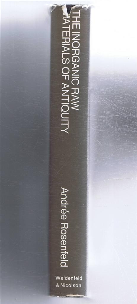 Image for The Inorganic Raw Materials of Antiquity