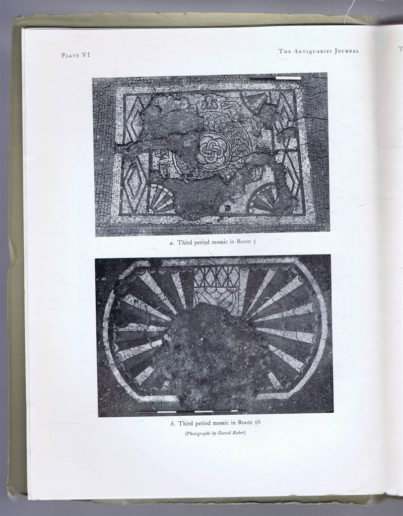 Image for The Antiquaries Journal, Being the Journal of The Society of Antiquaries of London, Volume XLIV, 1964, Part I