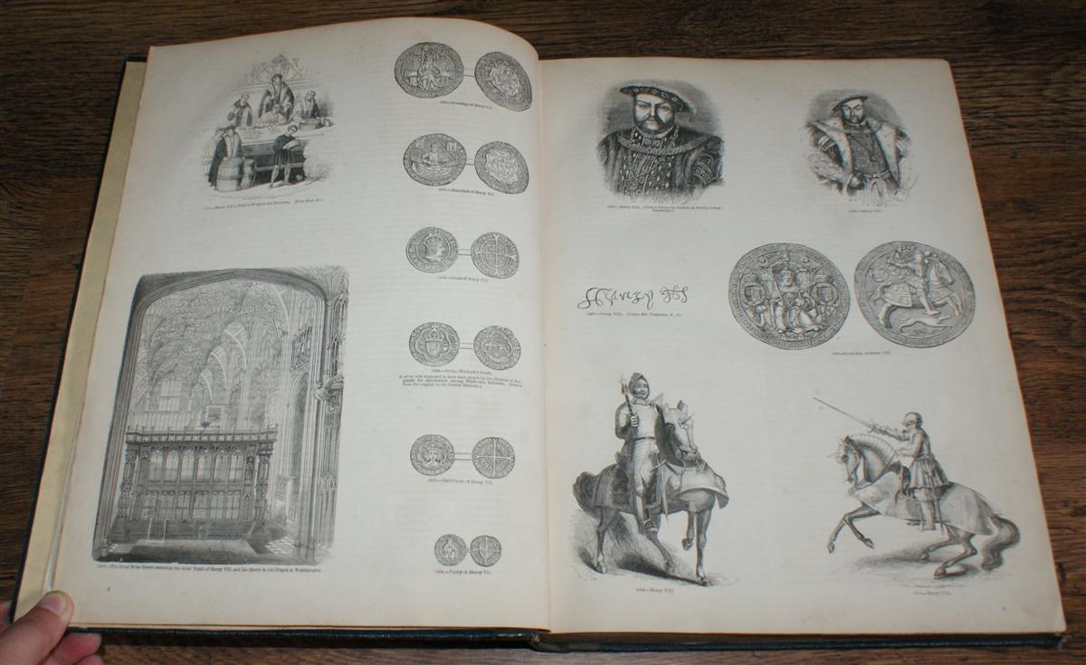 Image for Old England: A Pictorial Museum of Regal, Ecclesiastical, Municipal, Baronial, and Popular Antiquities, Volume II only