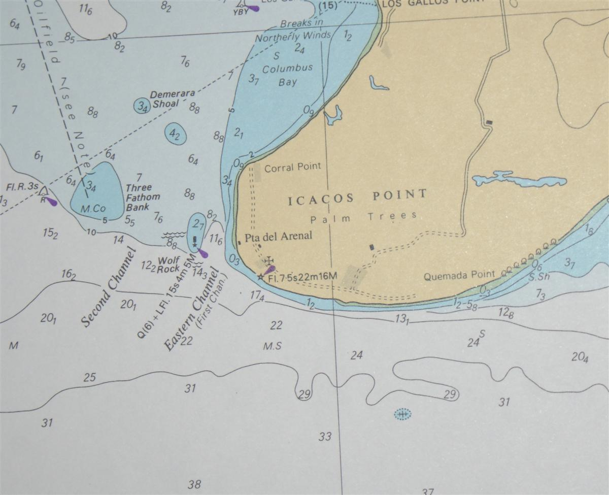 Image for Nautical Chart No. 481 Trinidad and Venezuela - Serpent's Mouth